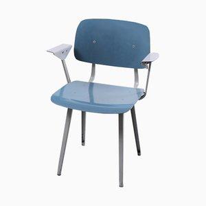 Revolt Stuhl in Blau & Grau von Friso Kramer für Ahrend De Cirkel, 1964