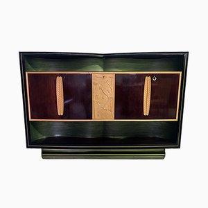 Mid-Century Italian Rosewood Bar Cabinet by Vittorio Dassi, 1955
