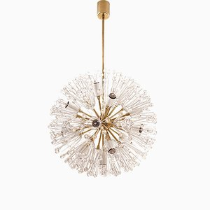 Mid-Century Snowball Chandelier by Emil Stejnar for Rupert Nikoll