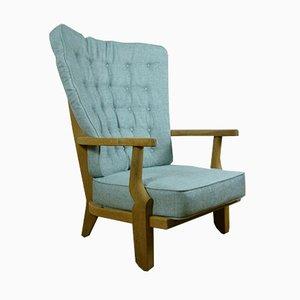 Great Rest Armchairs by Guillerme et Chambron for Votre Maison, 1960s, Set of 2