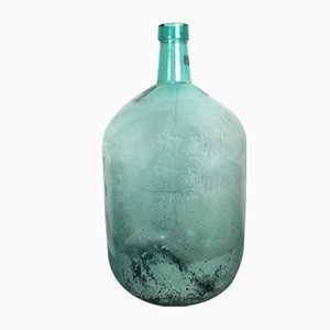 Large Mid-Century Green Bottle from Viresa