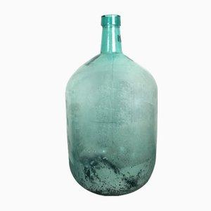 Bottiglia grande Mid-Century verde di Viresa
