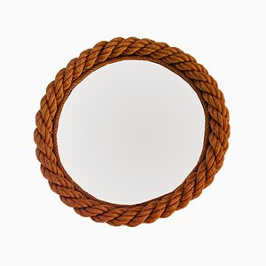Small Vintage Rope Mirror