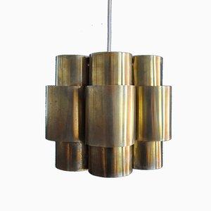 Lampe à Suspension en Laiton par Hans-Agne Jakobsson, 1960s