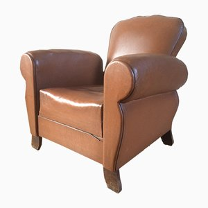 Vintage Leather Club Chair
