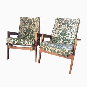 FS105 Lounge Chairs by Pierre Guariche for Airborne, 1950s, Set of 2