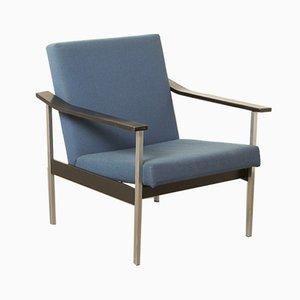 Blauer Modell 1450 Sessel von Coen de Vries für Gispen, 1960er