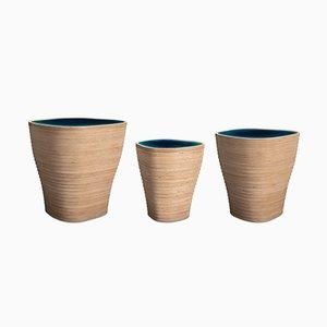 Sculptural Nesting Tables or Stools by Julien Lagueste, Set of 3