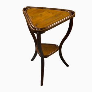 Table d'Appoint No. 4 Triangulaire Antique de Thonet