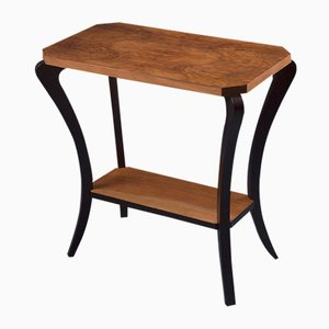Art Nouveau Walnut Console Table
