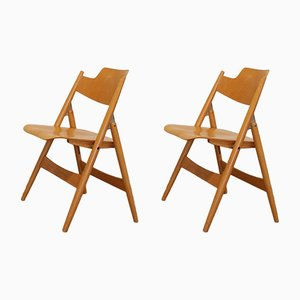 SE18 Folding Chairs by Egon Eiermann for Wilde+Spieth, 1950s, Set of 2