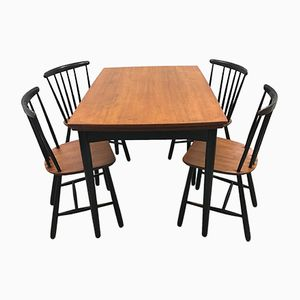 Scandinavian Dining Set, 1950s