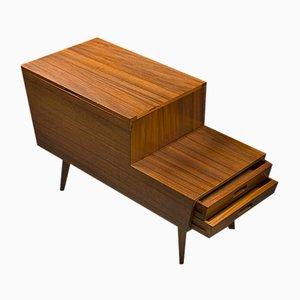 Mueble de máquina de coser vintage de Vanson, años 50