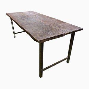 Table Vintage en Chêne, Espagne, 1970s