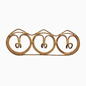 Vintage Rattan Coat Rack by Franco Albini & Franca Helg for Pierantonio Bonacina, 1961