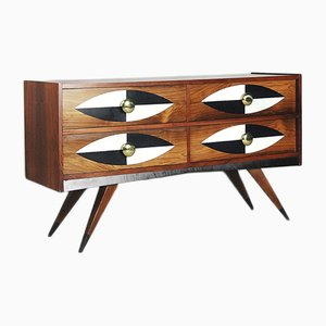 Mid-Century Swedish Rosewood Chest of Drawers from AB Glas & Trä, 1960s