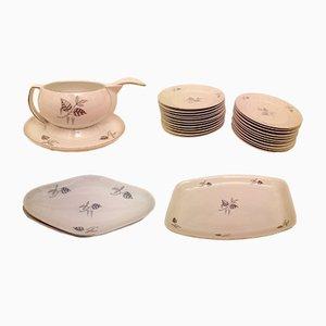 Set de Vaisselle Verbano de Laveno, 1930s