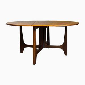Mid-Century Danish Drop Leaf Dining Table