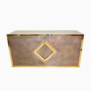 Hollywood Regency Brass Sideboard from Belgo Chrom / Dewulf Selection