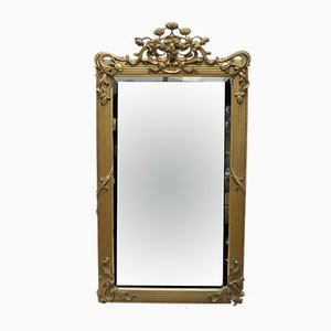 Antique Mirror from Ecole de Paris
