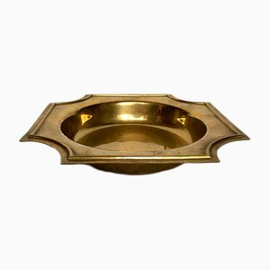 Art Deco German Brass Ashtray
