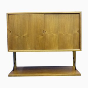 Mid-Century Walnut Wall Shelf by Poul Cadovius for Cado