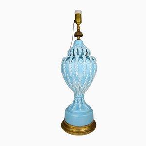 Manises Tischlampe aus Keramik von Bondia, 1930er