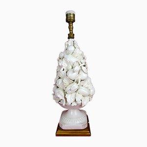 Vintage Spanish Ceramic Table Lamp from CH Hispania, 1930s