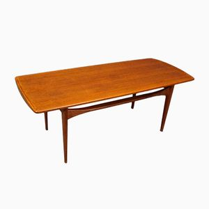 Vintage FD503 Coffee Table by Tove & Edvard Kindt-Larsen for France & Daverkosen