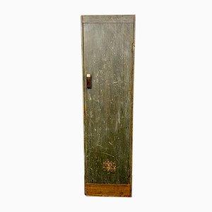 Vintage Kurzwaren-Schrank aus Holz mit Verteilerfächern