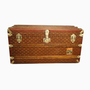 French Steamer Trunk, 1930s