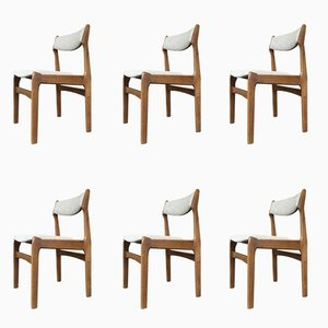 Teak Dining Chairs by Erik Buch, 1960s, Set of 6