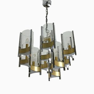 Hurricane Chandelier by Gaetano Sciolari for Sciolari, 1960s