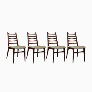 Chaises de Salon Scandinaves Mid-Century, Set de 4