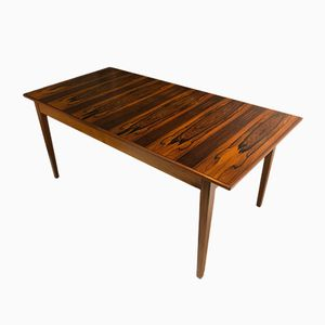 Mid-Century Rosewood Extendable Dining Table by Robert Heritage for Archie Shine