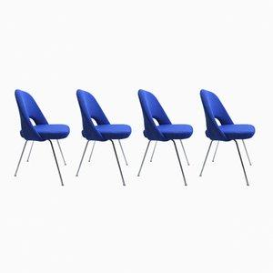 Vintage Chefstühle von Eero Saarinen für Knoll, 4er Set
