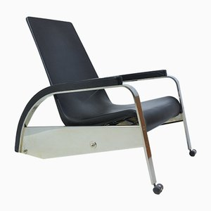D80 Grand Repos Lounge Chair by Jean Prouve for Tecta, 1980s