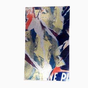 La Dolce Vita Künstlerabzug aus galvanisiertem Stahl von Rotella Mimmo für Zerodisegno, 2007