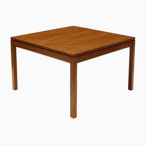 Tavolino da caffè impiallacciato in palissandro di Heggen, anni '60
