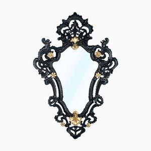 Venetian Rococo Style Wall Mirror, 1940s