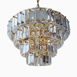 Vintage Kronleuchter aus Kristallglas von Bakalowits & Sohne