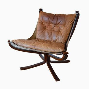 Vintage Falcon Chair von Sigurd Ressel für Vatne Møbler, 1970er