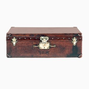 Antique Leather Trunk from Louis Vuitton, 1910