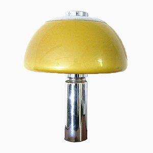 Lámpara era espacial en forma de champiñón, años 70