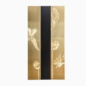 Panel iluminado SECRET GARDEN de Camilla Carzaniga para Soul Light