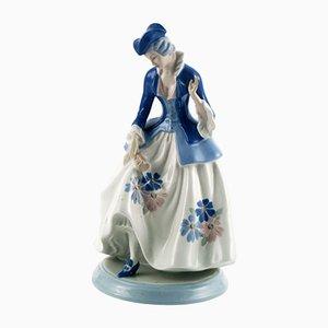 Porcelaine Dama de Cacciapuoti, Italie, 1930s