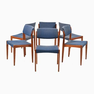 Teak Dining Chairs by Henry W. Klein for Bramin, 1960s, Set of 6