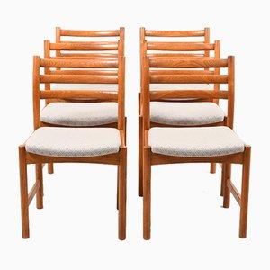 Dänische Esszimmerstühle von Poul Volther für Soro Stolefabrik, 1960er, 6er Set