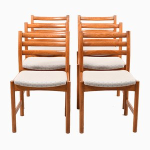 Danish Dining Chairs by Poul Volther for Soro Stolefabrik, 1960s, Set of 6
