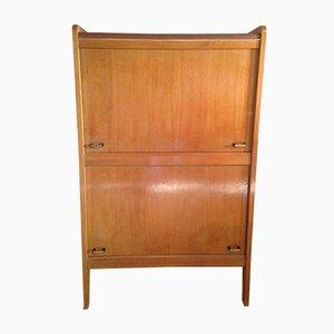 Mueble de madera y escay, años 50